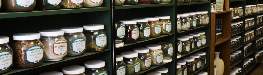 Bulk Herbs Shelf